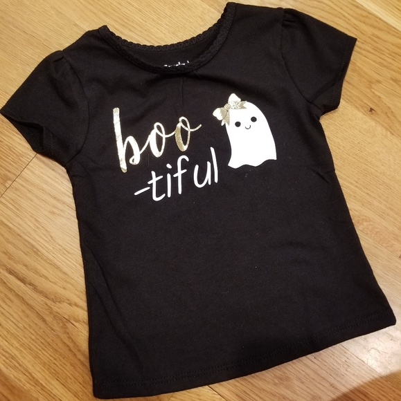 1934272b Toddler Girls Halloween shirt